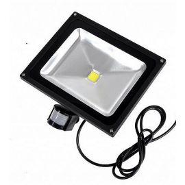 LED reflektor se senzorem 50W, studená bílá, BASS