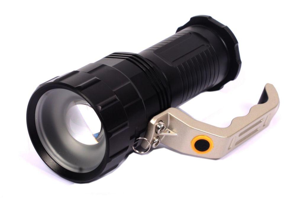 LED T6 přenosná svítilna BASS