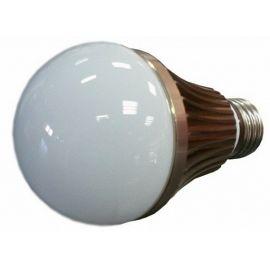 LED žárovka 6W, studená bílá, 650lm, E27, BASS