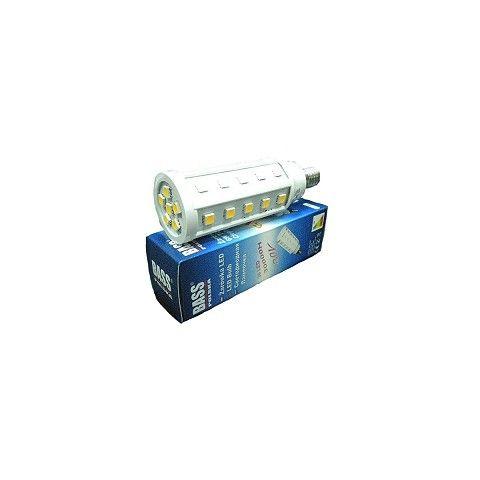LED žárovka 6W, teplá bílá, 480lm, E14, BASS