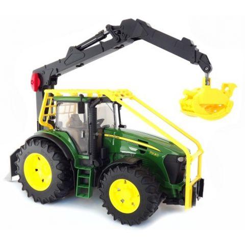 Lesnický traktor John Deere 7930 03053 BRUDER