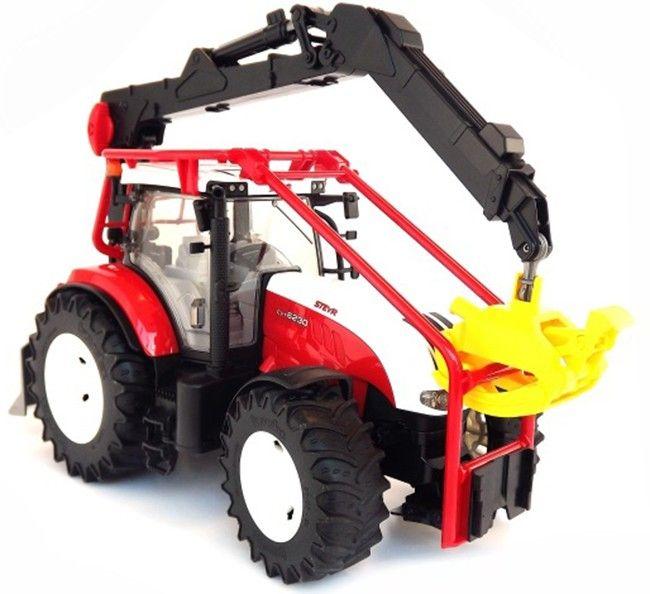 Lesnický traktor Steyr CVT 6230 03092 BRUDER Nářadí-Sklad 1 | 0