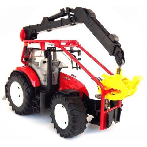 Lesnický traktor Steyr CVT 6230 03092 BRUDER