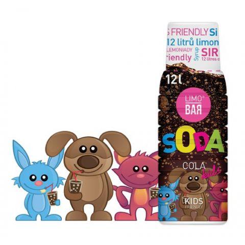 LIMO BAR - Sirup Cola Kids 0,5l