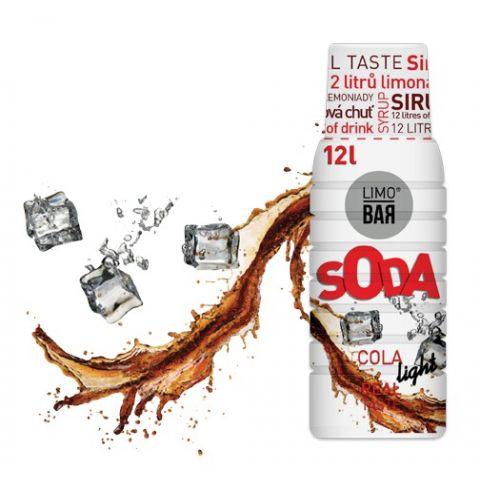 LIMO BAR - Sirup Cola Light 0,5l