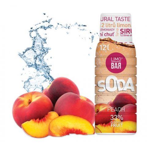 LIMO BAR - Sirup Peach 0,5l
