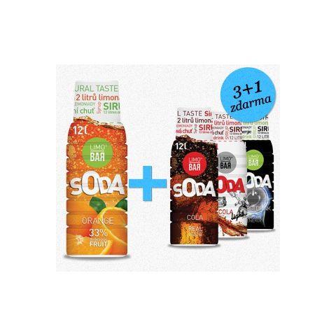 LIMO BAR - Sirupy Party Mix 3+1