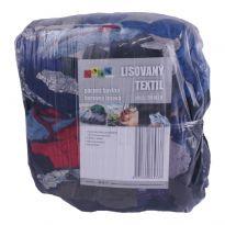 Lisovaný textil, páraná bavlna barevná tmavá 10kg