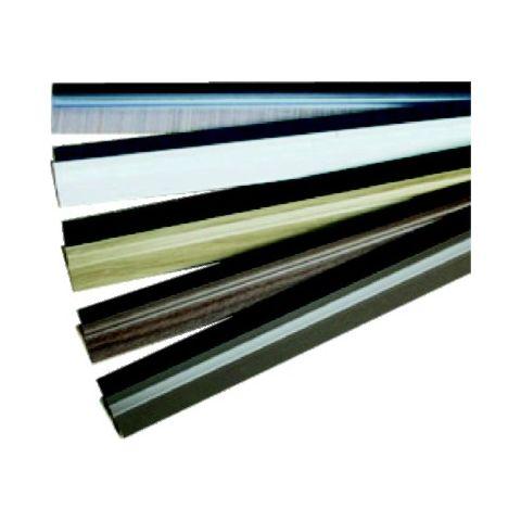 Lišta dveřní PVC-kartáč ořech 100cm