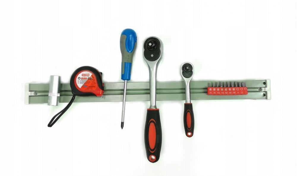 Magnetická lišta na nářadí, délka 50cm MAR-POL