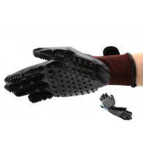 Masážní rukavice na vyčesání chlupů domácích zvířat GEKO