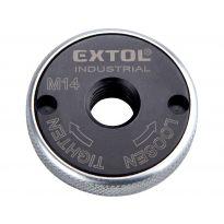 Matice rychloupínací pro úhlové brusky, click-nut, M14 EXTOL