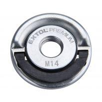 Matice rychloupínací pro úhlové brusky, M14, do 1000W EXTOL PREMIUM