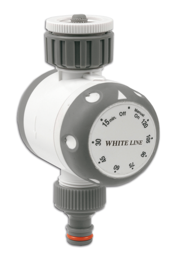 Mechanické zavlažovací hodiny WHITE LINE *HOBY 0Kg BR-WL-3131