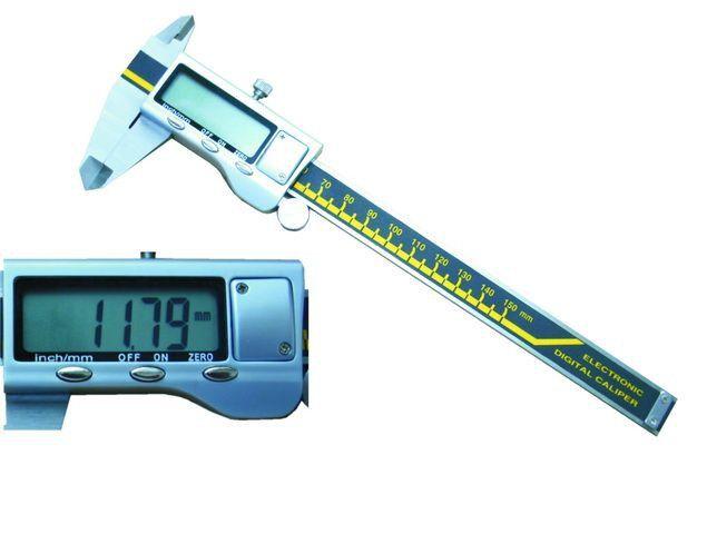 Měřítko posuvné 150 mm digitální-nerezové *HOBY 0Kg 106045