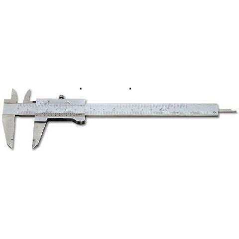 Měřítko posuvné 150 mm-tlačítko monoblok