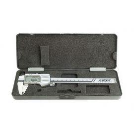 Měřítko posuvné digitální kovové, 0-150mm EXTOL PREMIUM