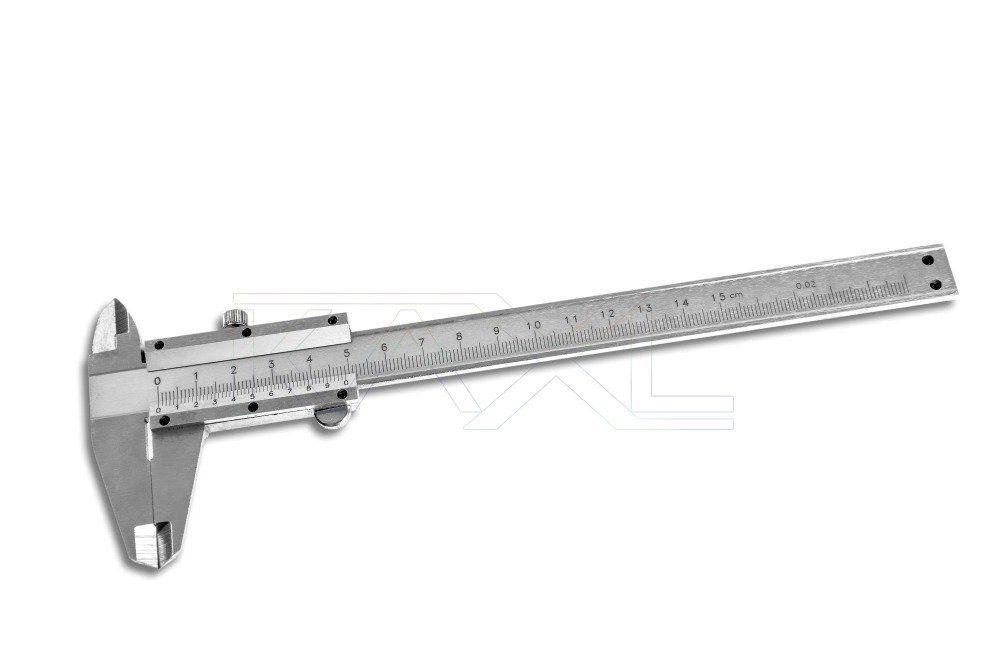 Měřítko posuvné kovové, 0-150mm MAR-POL
