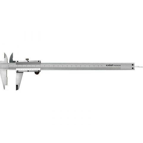 Měřítko posuvné kovové, 0-200mm, rozlišení 0,05mm, EXTOL CRAFT