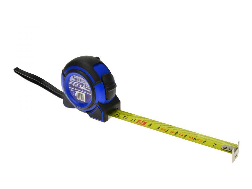 Metr svinovací oboustranný 3m, 16mm GEKO