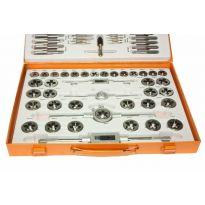 Metrické závitníky sada 110ks BJC, oranžový kufr