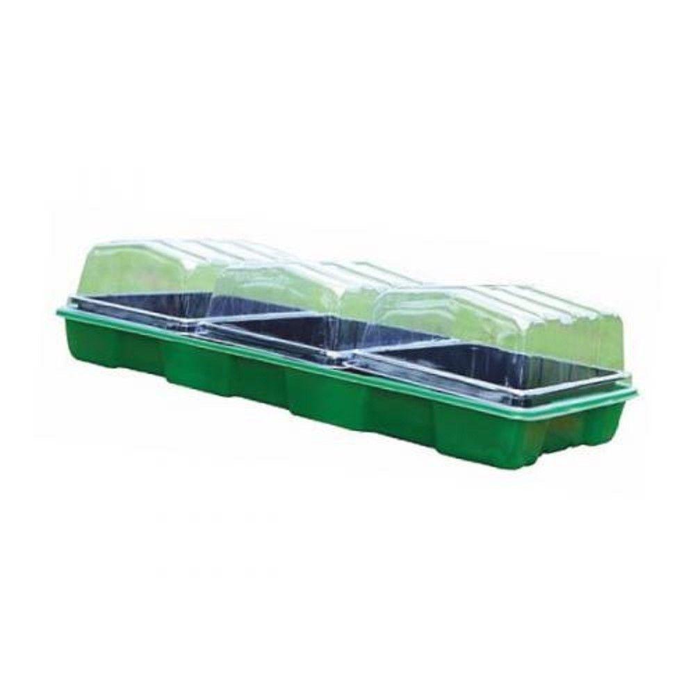 Minipařeniště, plastový skleník P2005, 3 přísady, 57x24,5x13,5cm *HOBY 0Kg SL255285XX