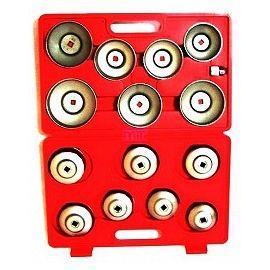Miskové klíče na výměnu olejových filtrů, sada 14ks, BASS