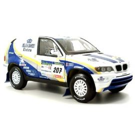 Model automobilu BMW X 5 Rally Raid 2004 SOLIDO