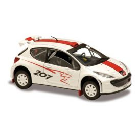 Model automobilu Peugeot 207 Super 2000-2006 SOLIDO