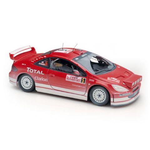 Model automobilu Peugeot 307 WRC Monte Carlo 2004 SOLIDO