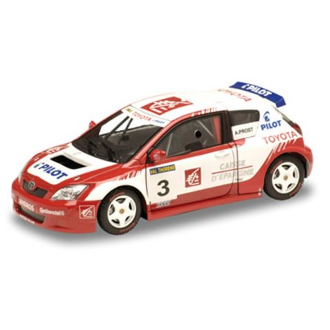 Model automobilu Toyota Corolla Andros Prost 2005-2006 SOLIDO