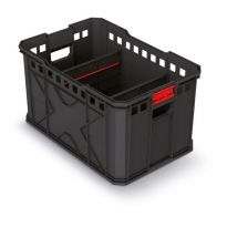 Modulární přepravní box X BLOCK PRO černý 536x354x300 KISTENBERG