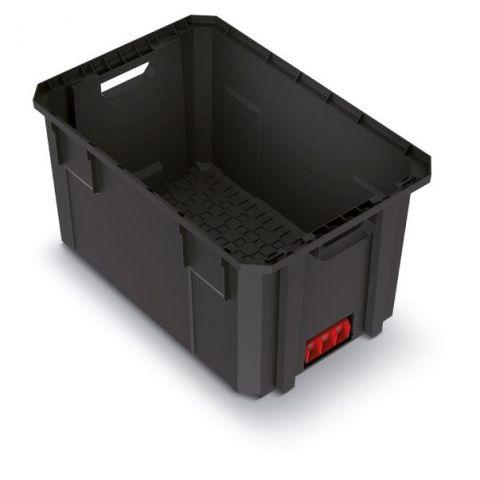 Modulární přepravní box X BLOCK PRO černý 544x362x300 KISTENBERG