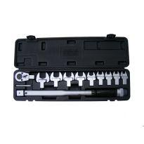 Momentový klíč 1/2'', 40-210Nm + nástavce, BASS