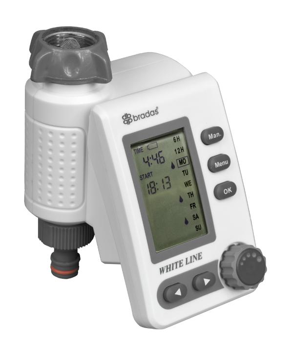 Multifunkční elektronické zavlažovací hodiny, elektronický regulátor WHITE LINE Nářadí-Sklad 1 | 0