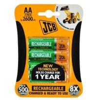 Nabíjecí baterie JCB RTU NiMH AA/R06, 2600mAh