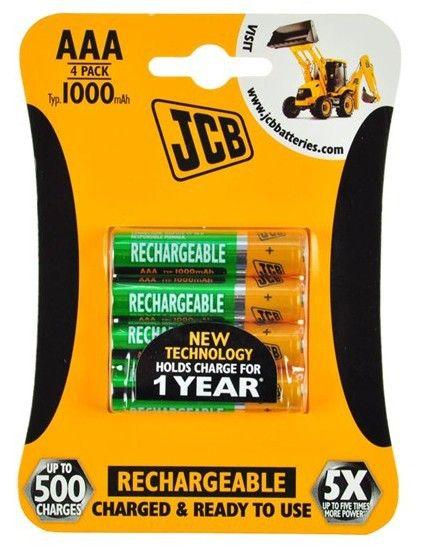 Nabíjecí baterie JCB RTU NiMH AAA/R03, 900mAh Nářadí-Sklad 1 | 0