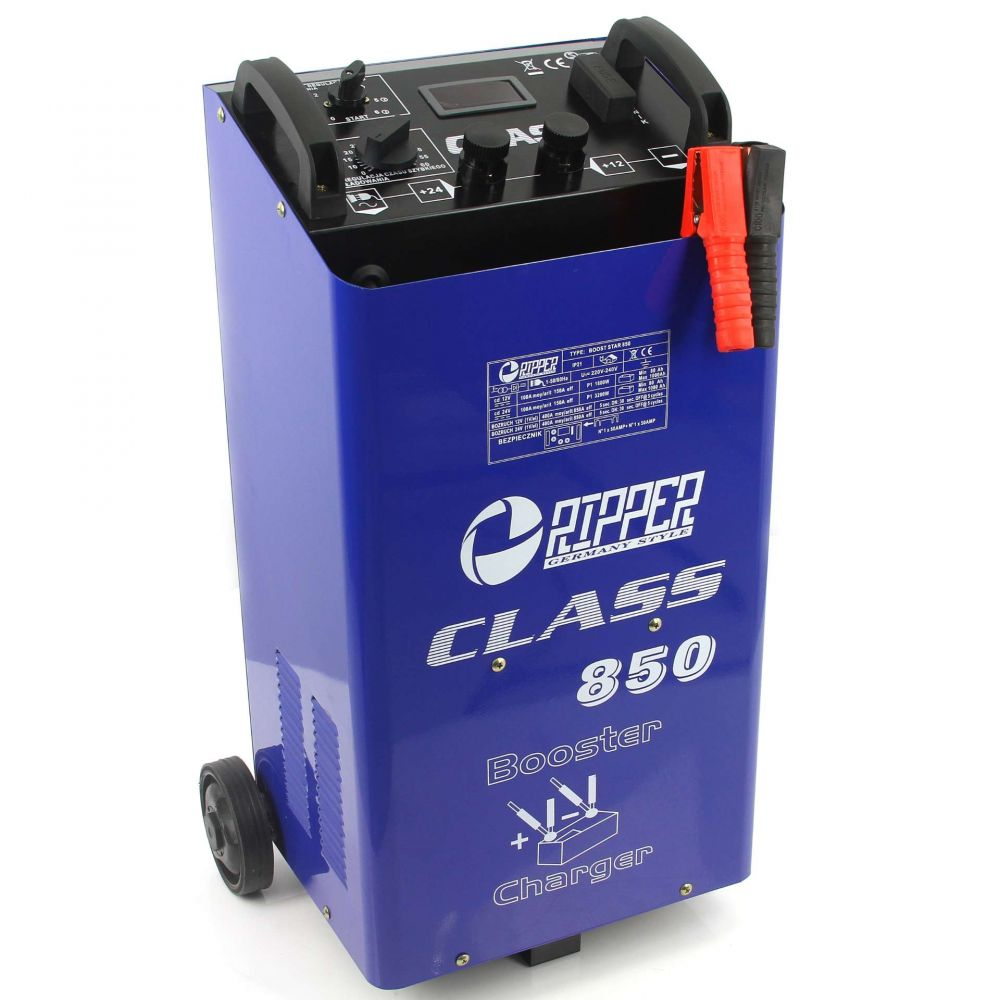 Nabíjecí zdroj se startem 12/24V LCD CLASS 850 RIPPER