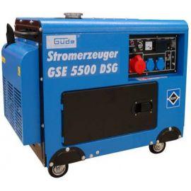Naftová elektrocentrála GSE 5500 DSG (el. startér) (generátor), GÜDE