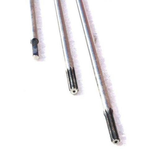 Náhradní osa hřídele k motorové kose 7z 7mm DEMON