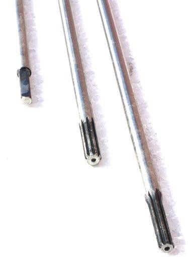 Náhradní osa hřídele k motorové kose 9z 8mm DEMON