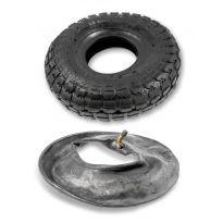 Náhradní pneumatika + duše pro kolo nafukovací 4,1/3,5-R4 2PR GEKO