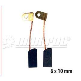 Náhradní uhlíky k elektrickému nářadí 6x10 mm MAR-POL