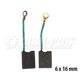 Náhradní uhlíky k elektrickému nářadí 6x16 mm MAR-POL
