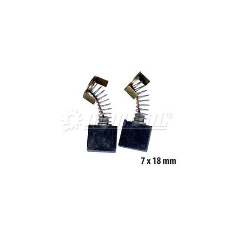 Náhradní uhlíky k elektrickému nářadí 7x18 mm MAR-POL