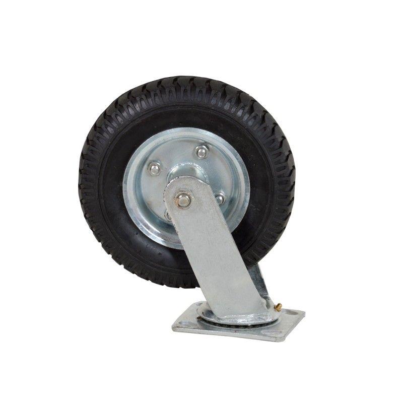 """Náhradní univerzální kolečko pro přepravní vozíky 8"""" otočné KD457 KRAFT&DELE"""
