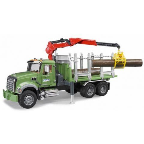 Nákladní auto pro přepravu dřeva MAC Granite + 3 klády 02824 BRUDER