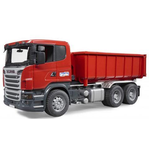 Nákladní auto Scania s kontejnerem 03522 BRUDER