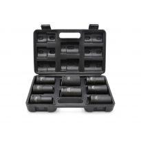 """Nástrčné rázové hlavice 3/4"""", 17-32mm, 8ks v kufru GEKO"""