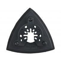 Nosič brusných výseků delta, 90mm, suchý zip, EVA EXTOL PREMIUM